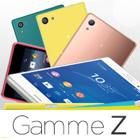 reparation smartphone sony xperia gamme z