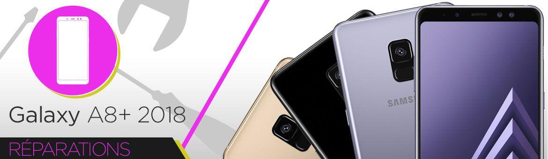 Réparation Samsung Galaxy A8+ 2018 (A730F)