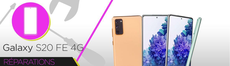 Réparation Samsung Galaxy S20 FE 4G (G780F)