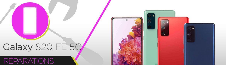 Réparation Samsung Galaxy S20 FE 5G (G781B)