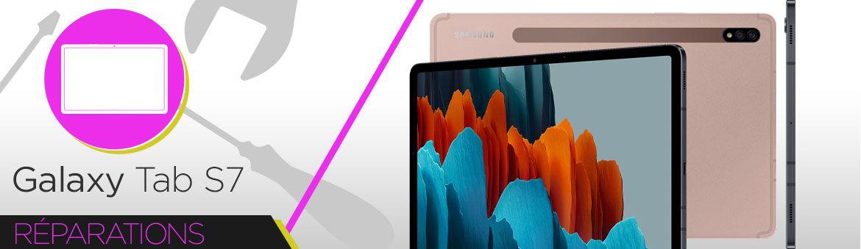 Réparation Samsung Galaxy Tab S7 (T870) / (T875N)