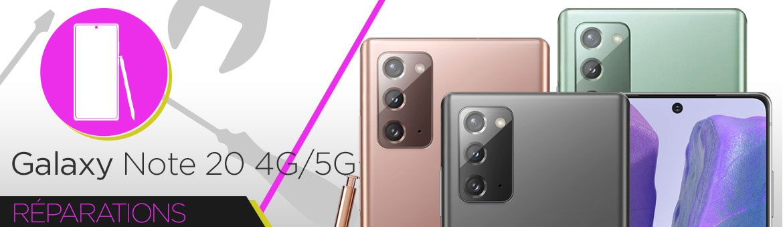 Réparation Samsung Galaxy Note 20 4G (N980F) | 5G (N981F)