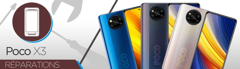 Réparation Xiaomi Poco X3