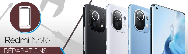 Réparation Xiaomi Redmi Note 11