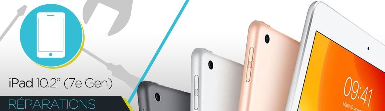"""Réparation iPad 2019 10.2"""" (7e GEN)"""