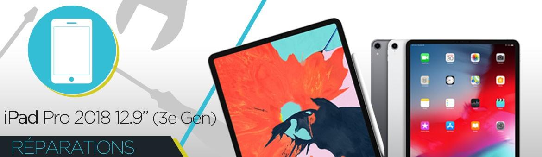 """Réparation iPad Pro 2018 12.9"""" (3ème GEN)"""