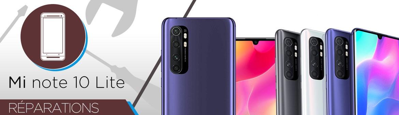 Réparation Xiaomi Mi Note 10 Lite