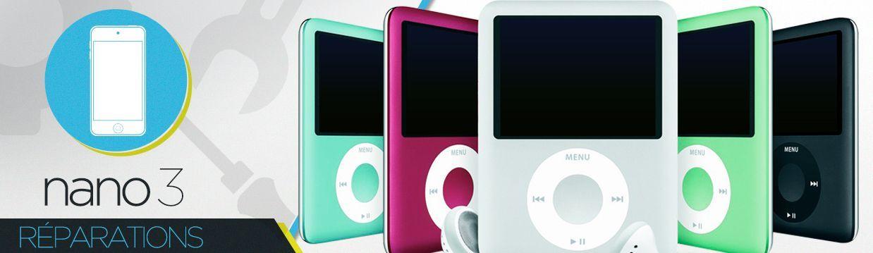 Réparation iPod Nano 3
