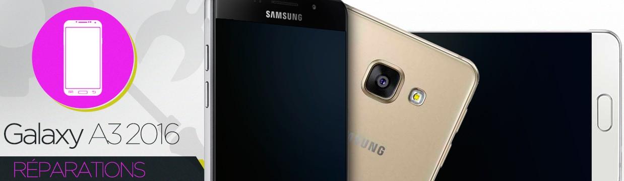 Réparation Samsung Galaxy A3 2016 (A310F)