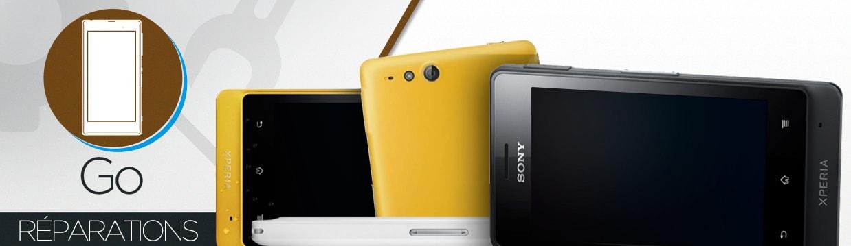 Réparation Sony Xperia Go