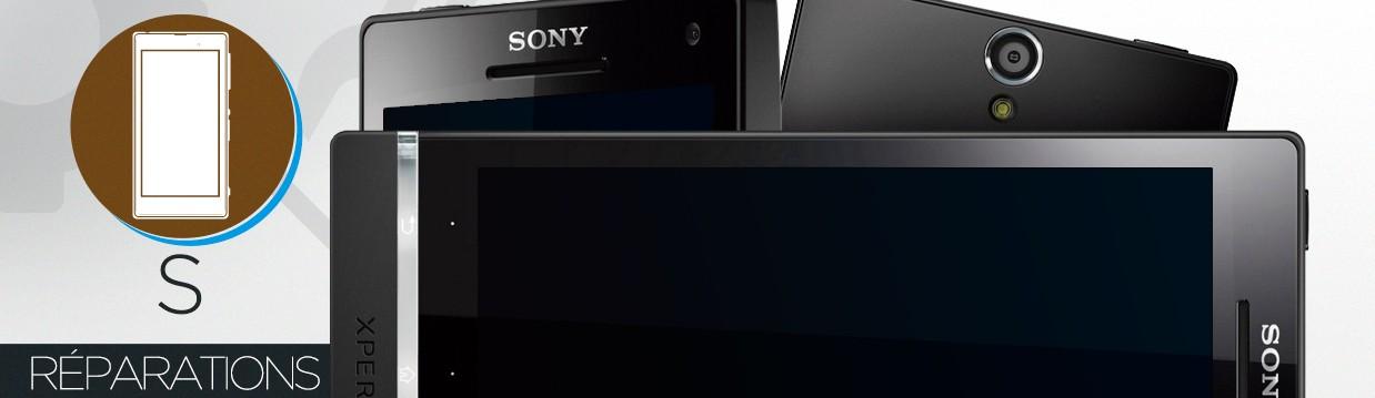 Réparation Sony Xperia S