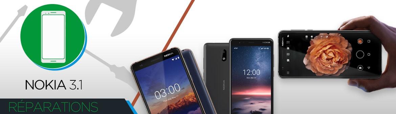 Réparation Nokia 3.1