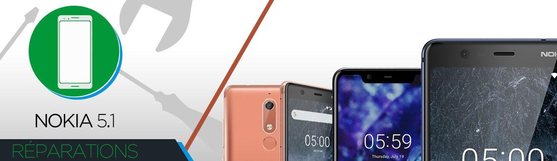 Réparation Nokia 5.1