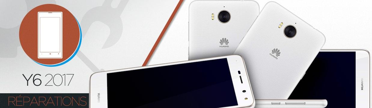 Réparation Huawei Y6 2017