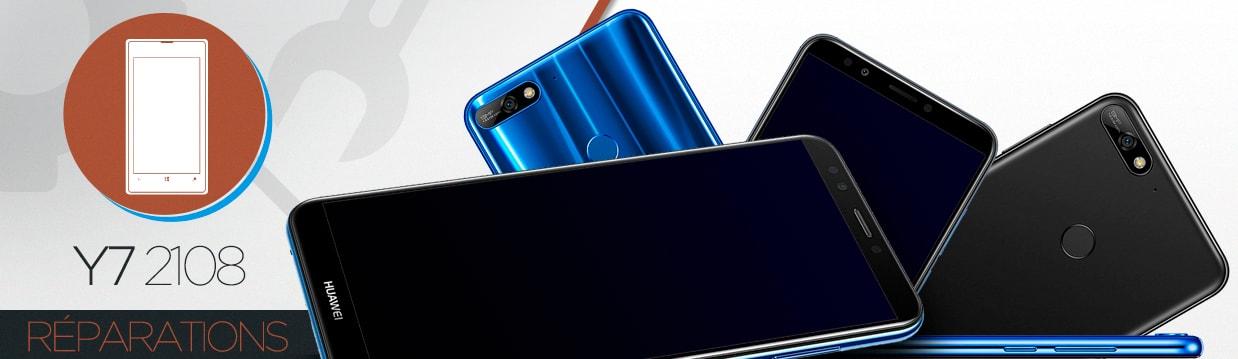 Réparation Huawei Y7 2018