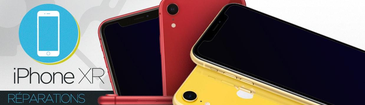 Réparation iPhone XR