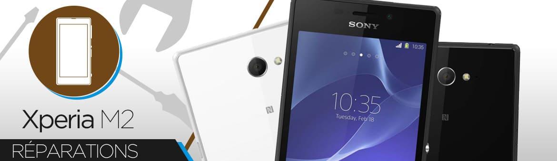Réparation Sony Xperia M