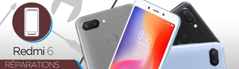 Réparation Xiaomi Redmi 6