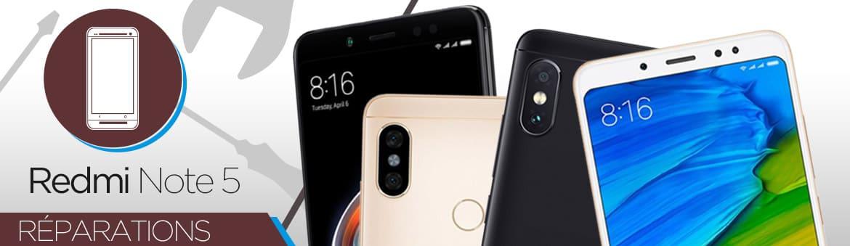Réparation Xiaomi REDMI NOTE 5