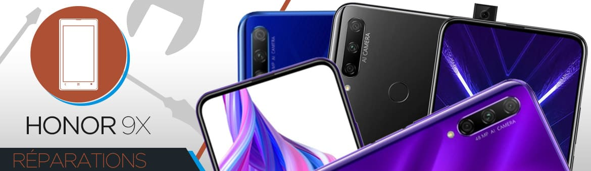 Réparation Huawei Honor 9X